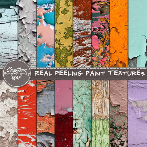 Real Peeling Paint Textures