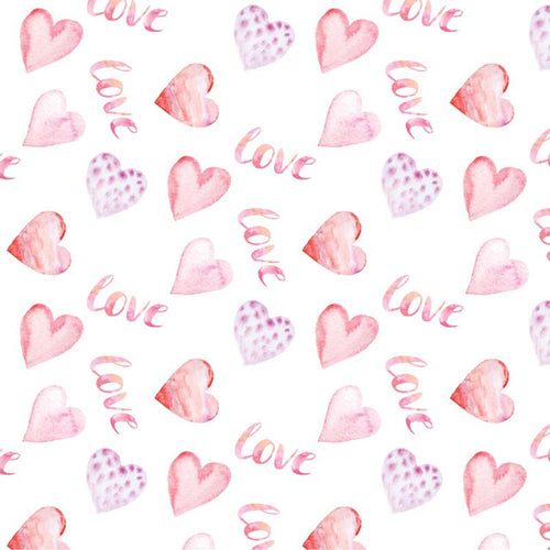 Love Hearts - Pattern Vinyl and HTV