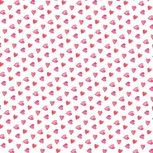 Mini Red Hearts - Pattern Vinyl and HTV