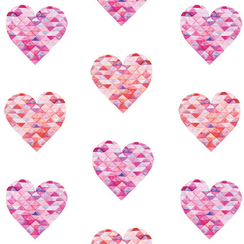 Large Triangle Hearts - Pattern Vinyl and HTV