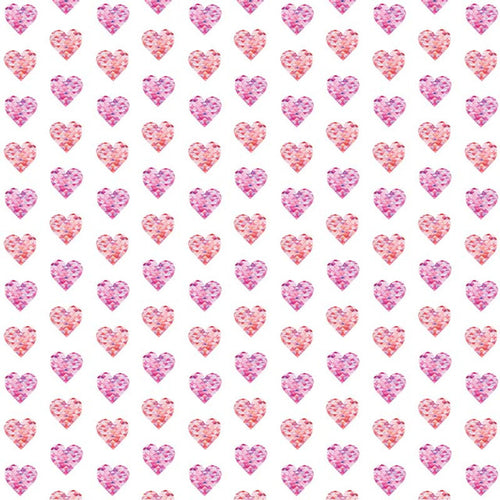 Small Triangle Hearts - Pattern Vinyl and HTV