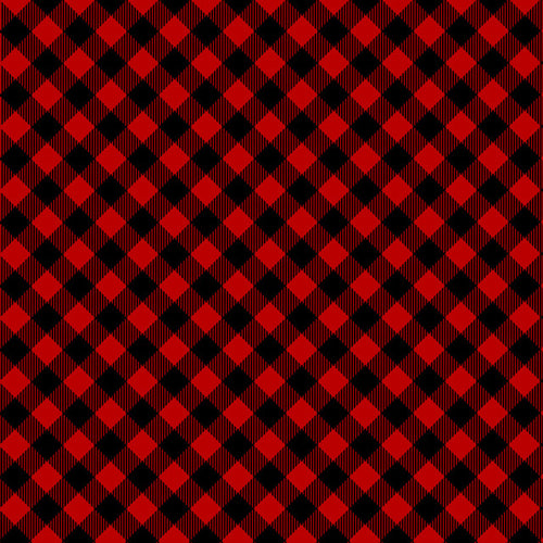 Buffalo Plaid Red Diagonal - Pattern Vinyl and HTV