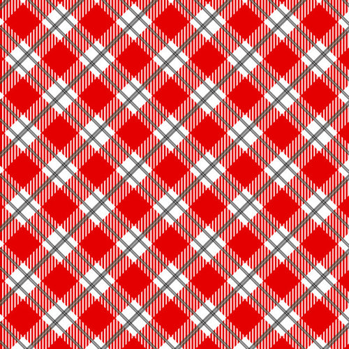 Country Classics Red Diagonal - Pattern Vinyl and HTV