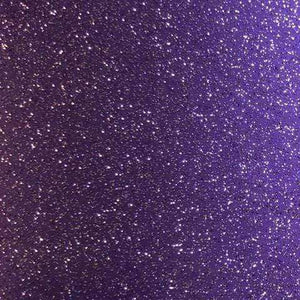 "Crafter's Vinyl Supply Cut Vinyl 12"" x 1 Yard Authentic Glitter - Amethyst by Crafters Vinyl Supply"