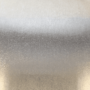 "Crafter's Vinyl Supply Cut Vinyl 12"" x 1 Yard Coarse Brushed Silver by Crafters Vinyl Supply"