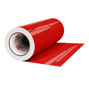 "Crafter's Vinyl Supply Cut Vinyl 12"" x 1 Yard ORACAL® 341 Vinyl - 032 Light Red - Gloss Finish by Crafters Vinyl Supply"