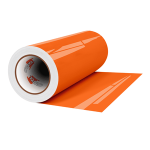 "Crafter's Vinyl Supply Cut Vinyl 12"" x 1 Yard ORACAL® 341 Vinyl - 035 Pastel Orange - Gloss Finish by Crafters Vinyl Supply"