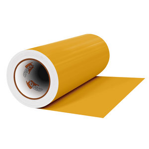 "Crafter's Vinyl Supply Cut Vinyl 12"" x 1 Yard ORACAL® 631 Vinyl - 019 Signal Yellow - Matte Finish by Crafters Vinyl Supply"
