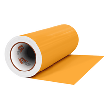 "Load image into Gallery viewer, Crafter's Vinyl Supply Cut Vinyl 12"" x 1 Yard ORACAL® 631 Vinyl - 020 Golden Yellow - Matte Finish by Crafters Vinyl Supply"