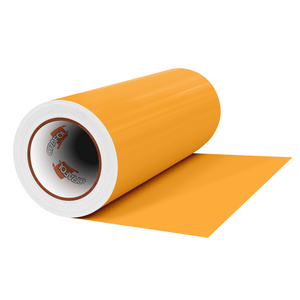 "Crafter's Vinyl Supply Cut Vinyl 12"" x 1 Yard ORACAL® 631 Vinyl - 020 Golden Yellow - Matte Finish by Crafters Vinyl Supply"