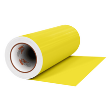 "Load image into Gallery viewer, Crafter's Vinyl Supply Cut Vinyl 12"" x 1 Yard ORACAL® 631 Vinyl - 025 Brimstone Yellow - Matte Finish by Crafters Vinyl Supply"