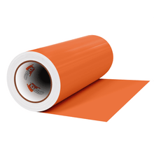 "Load image into Gallery viewer, Crafter's Vinyl Supply Cut Vinyl 12"" x 1 Yard ORACAL® 631 Vinyl - 036 Light Orange - Matte Finish by Crafters Vinyl Supply"