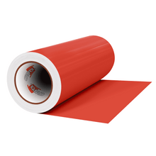 "Load image into Gallery viewer, Crafter's Vinyl Supply Cut Vinyl 12"" x 1 Yard ORACAL® 631 Vinyl - 047 Orange Red - Matte Finish by Crafters Vinyl Supply"