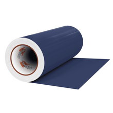 "Load image into Gallery viewer, Crafter's Vinyl Supply Cut Vinyl 12"" x 1 Yard ORACAL® 631 Vinyl - 050 Dark Blue - Matte Finish by Crafters Vinyl Supply"