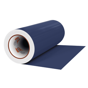 "Crafter's Vinyl Supply Cut Vinyl 12"" x 1 Yard ORACAL® 631 Vinyl - 050 Dark Blue - Matte Finish by Crafters Vinyl Supply"