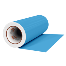 "Load image into Gallery viewer, Crafter's Vinyl Supply Cut Vinyl 12"" x 1 Yard ORACAL® 631 Vinyl - 056 Ice Blue - Matte Finish by Crafters Vinyl Supply"