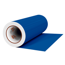 "Load image into Gallery viewer, Crafter's Vinyl Supply Cut Vinyl 12"" x 1 Yard ORACAL® 631 Vinyl - 057 Traffic Blue - Matte Finish by Crafters Vinyl Supply"