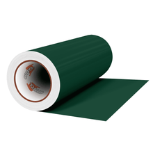 "Load image into Gallery viewer, Crafter's Vinyl Supply Cut Vinyl 12"" x 1 Yard ORACAL® 631 Vinyl - 060 Dark Green - Matte Finish by Crafters Vinyl Supply"