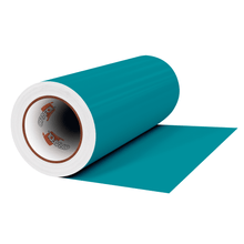 "Load image into Gallery viewer, Crafter's Vinyl Supply Cut Vinyl 12"" x 1 Yard ORACAL® 631 Vinyl - 066 Turquoise Blue - Matte Finish by Crafters Vinyl Supply"