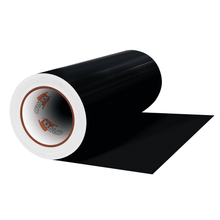 "Load image into Gallery viewer, Crafter's Vinyl Supply Cut Vinyl 12"" x 1 Yard ORACAL® 631 Vinyl - 070 Black - Matte Finish by Crafters Vinyl Supply"