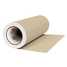 "Load image into Gallery viewer, Crafter's Vinyl Supply Cut Vinyl 12"" x 1 Yard ORACAL® 631 Vinyl - 082 Beige - Matte Finish by Crafters Vinyl Supply"