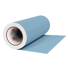 "Load image into Gallery viewer, Crafter's Vinyl Supply Cut Vinyl 12"" x 1 Yard ORACAL® 631 Vinyl - 145 Misty Blue - Matte Finish by Crafters Vinyl Supply"