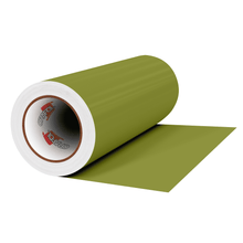 "Load image into Gallery viewer, Crafter's Vinyl Supply Cut Vinyl 12"" x 1 Yard ORACAL® 631 Vinyl - 493 Olive - Matte Finish by Crafters Vinyl Supply"