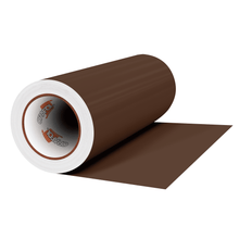 "Load image into Gallery viewer, Crafter's Vinyl Supply Cut Vinyl 12"" x 1 Yard ORACAL® 631 Vinyl - 800 Nougat Brown - Matte Finish by Crafters Vinyl Supply"