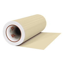 "Load image into Gallery viewer, Crafter's Vinyl Supply Cut Vinyl 12"" x 1 Yard ORACAL® 631 Vinyl - 814 Ivory - Matte Finish by Crafters Vinyl Supply"