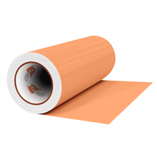 "Load image into Gallery viewer, Crafter's Vinyl Supply Cut Vinyl 12"" x 1 Yard ORACAL® 631 Vinyl - 890 Apricot - Matte Finish by Crafters Vinyl Supply"