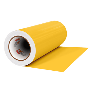 "Crafter's Vinyl Supply Cut vinyl 12"" x 1 Yard ORACAL® 641 Vinyl - 021 Yellow - Matte Finish by Crafters Vinyl Supply"