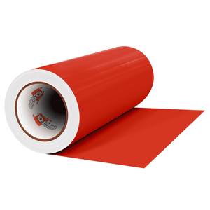 "Crafter's Vinyl Supply Cut vinyl 12"" x 1 Yard ORACAL® 641 Vinyl - 031 Red - Matte Finish by Crafters Vinyl Supply"