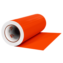 "Load image into Gallery viewer, Crafter's Vinyl Supply Cut vinyl 12"" x 1 Yard ORACAL® 641 Vinyl - 034 Orange - Matte Finish by Crafters Vinyl Supply"