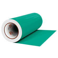 "Load image into Gallery viewer, Crafter's Vinyl Supply Cut vinyl 12"" x 1 Yard ORACAL® 641 Vinyl - 054 Turquoise - Matte Finish by Crafters Vinyl Supply"
