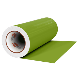 "Crafter's Vinyl Supply Cut vinyl 12"" x 1 Yard ORACAL® 641 Vinyl - 063 Lime-Tree Green - Matte Finish by Crafters Vinyl Supply"