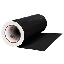 "Load image into Gallery viewer, Crafter's Vinyl Supply Cut vinyl 12"" x 1 Yard ORACAL® 641 Vinyl - 070 Black - Matte Finish by Crafters Vinyl Supply"