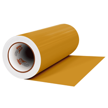 "Load image into Gallery viewer, Crafter's Vinyl Supply Cut vinyl 12"" x 1 Yard ORACAL® 641 Vinyl - 091 Gold Metallic - Matte Finish by Crafters Vinyl Supply"