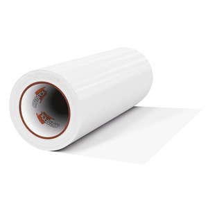 "Crafter's Vinyl Supply Cut Vinyl 12"" x 1 Yard ORACAL® 651 Vinyl - 010 White - Matte Finish by Crafters Vinyl Supply"