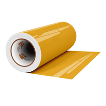 "Load image into Gallery viewer, Crafter's Vinyl Supply Cut Vinyl 12"" x 1 Yard ORACAL® 651 Vinyl - 019 Signal Yellow - Gloss Finish by Crafters Vinyl Supply"