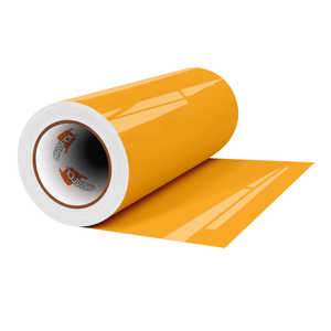 "Crafter's Vinyl Supply Cut Vinyl 12"" x 1 Yard ORACAL® 651 Vinyl - 020 Golden Yellow - Gloss Finish by Crafters Vinyl Supply"