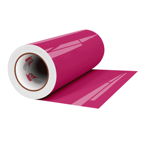 "Crafter's Vinyl Supply Cut Vinyl 12"" x 1 Yard ORACAL® 651 Vinyl - 041 Pink - Gloss Finish by Crafters Vinyl Supply"