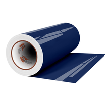 "Load image into Gallery viewer, Crafter's Vinyl Supply Cut Vinyl 12"" x 1 Yard ORACAL® 651 Vinyl - 050 Dark Blue - Gloss Finish by Crafters Vinyl Supply"