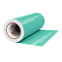 "Load image into Gallery viewer, Crafter's Vinyl Supply Cut Vinyl 12"" x 1 Yard ORACAL® 651 Vinyl - 055 Mint - Gloss Finish by Crafters Vinyl Supply"