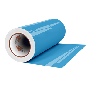 "Crafter's Vinyl Supply Cut Vinyl 12"" x 1 Yard ORACAL® 651 Vinyl - 056 Ice Blue - Gloss Finish by Crafters Vinyl Supply"