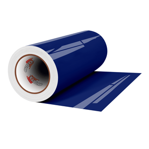 "Crafter's Vinyl Supply Cut Vinyl 12"" x 1 Yard ORACAL® 651 Vinyl - 065 Cobalt Blue - Gloss Finish by Crafters Vinyl Supply"