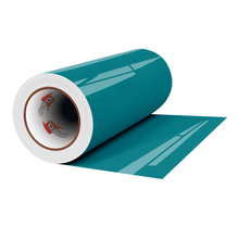 "Load image into Gallery viewer, Crafter's Vinyl Supply Cut Vinyl 12"" x 1 Yard ORACAL® 651 Vinyl - 066 Turquoise Blue - Gloss Finish by Crafters Vinyl Supply"