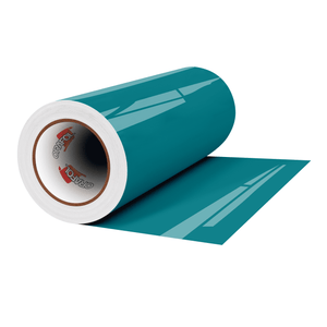 "Crafter's Vinyl Supply Cut Vinyl 12"" x 1 Yard ORACAL® 651 Vinyl - 066 Turquoise Blue - Gloss Finish by Crafters Vinyl Supply"