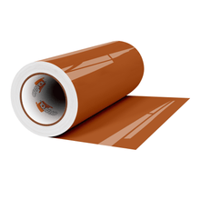"Load image into Gallery viewer, Crafter's Vinyl Supply Cut Vinyl 12"" x 1 Yard ORACAL® 651 Vinyl - 083 Nut Brown - Gloss Finish by Crafters Vinyl Supply"