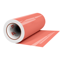 "Load image into Gallery viewer, Crafter's Vinyl Supply Cut Vinyl 12"" x 1 Yard ORACAL® 651 Vinyl - 341 Coral - Gloss Finish by Crafters Vinyl Supply"