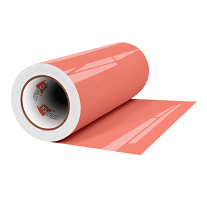 "Crafter's Vinyl Supply Cut Vinyl 12"" x 1 Yard ORACAL® 651 Vinyl - 341 Coral - Gloss Finish by Crafters Vinyl Supply"